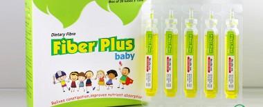 Chất xơ hòa tan fiber plus baby cho bé